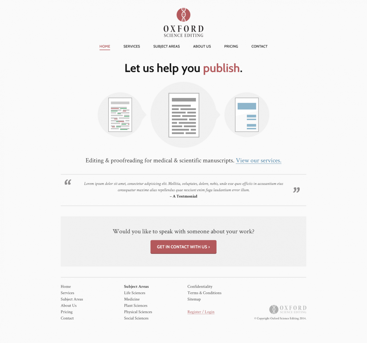 science-editing-website