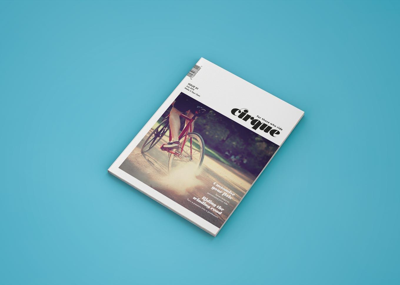 Cirque cover mockup