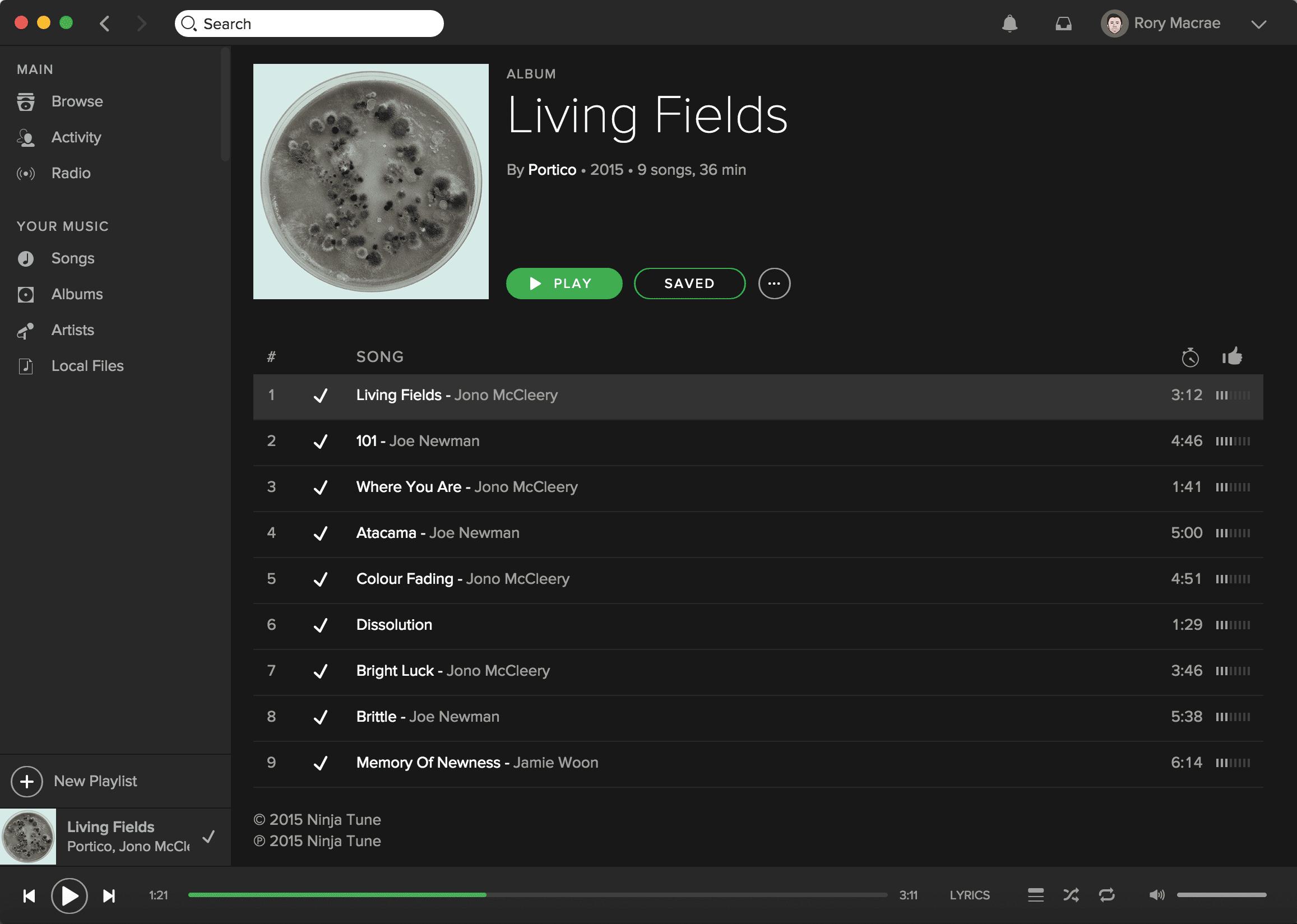 Portico - Spotify