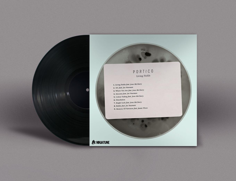 Living Fields vinyl reverse