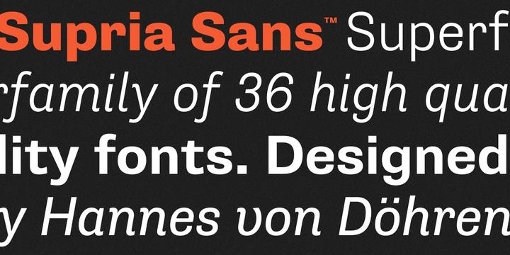 supria-sans_sample