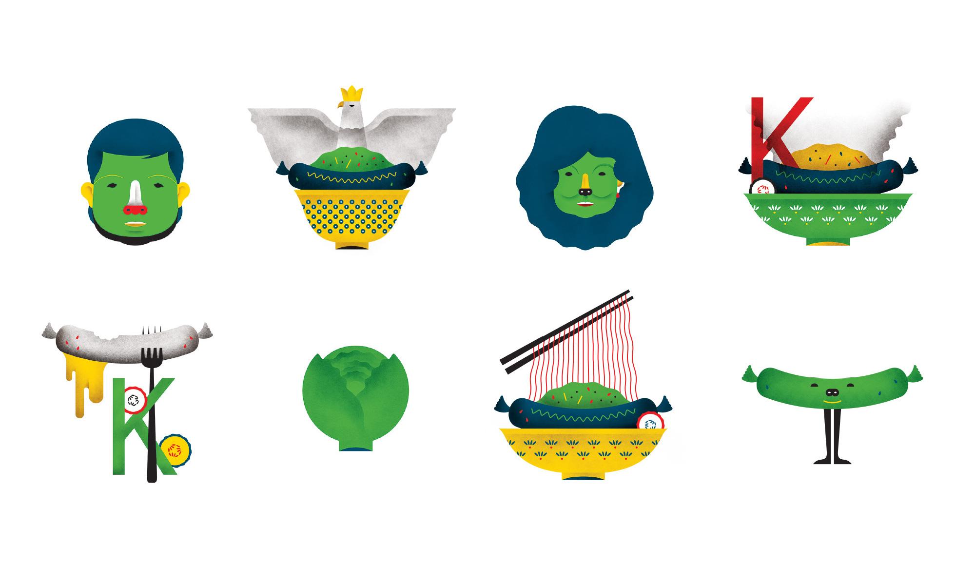 Kimski icons