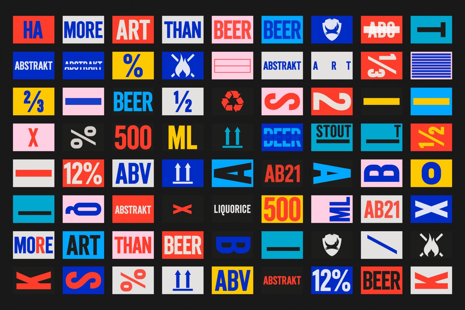 Abstrakt Icons