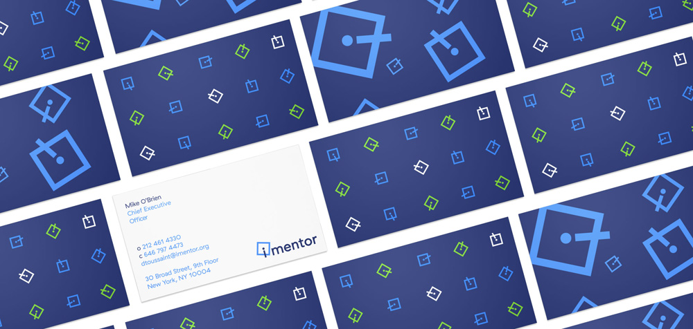 iMentor Business Cards