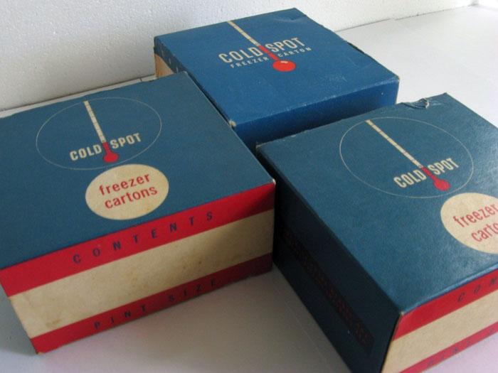 Freezer cartons