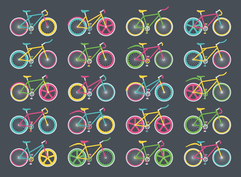 Bikes pattern