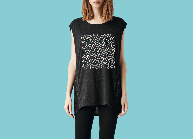 Garment t-shirt