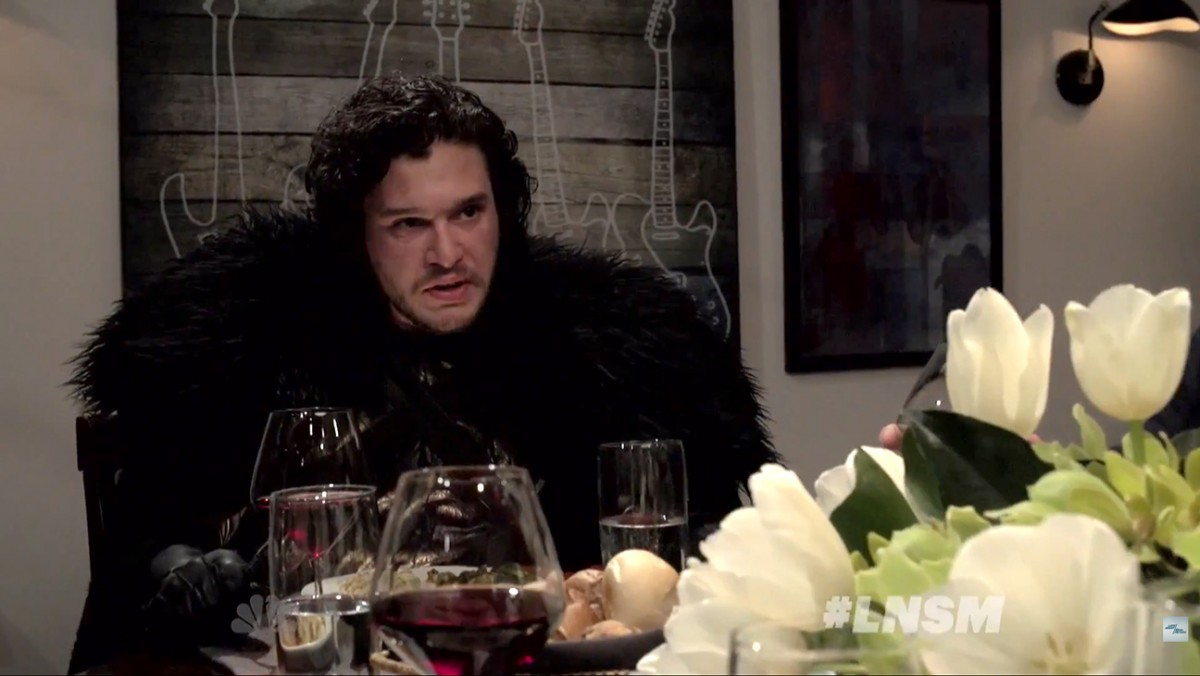 Jon Snow dinner party
