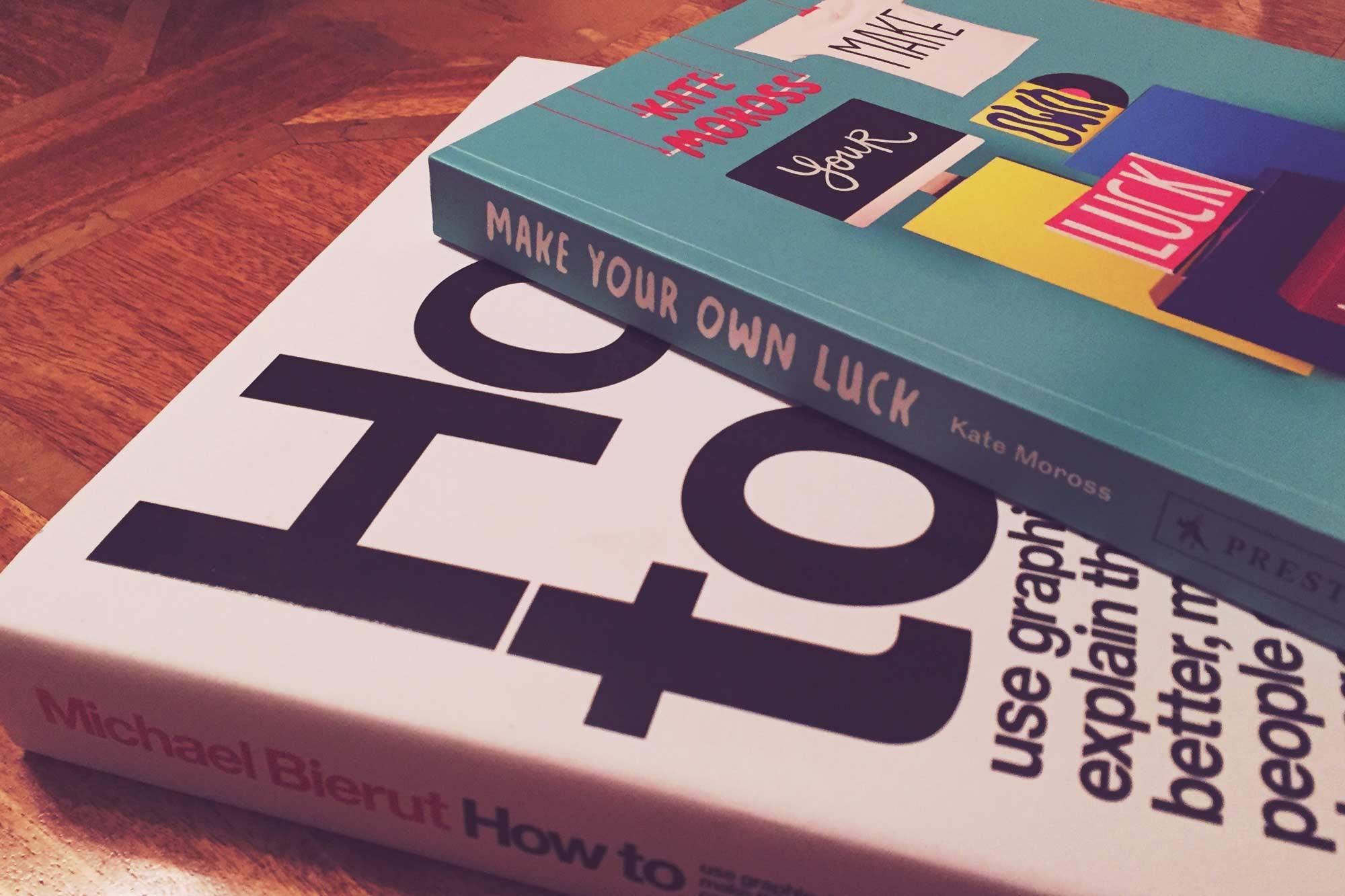 Books by Kate Moross & Michael Bierut
