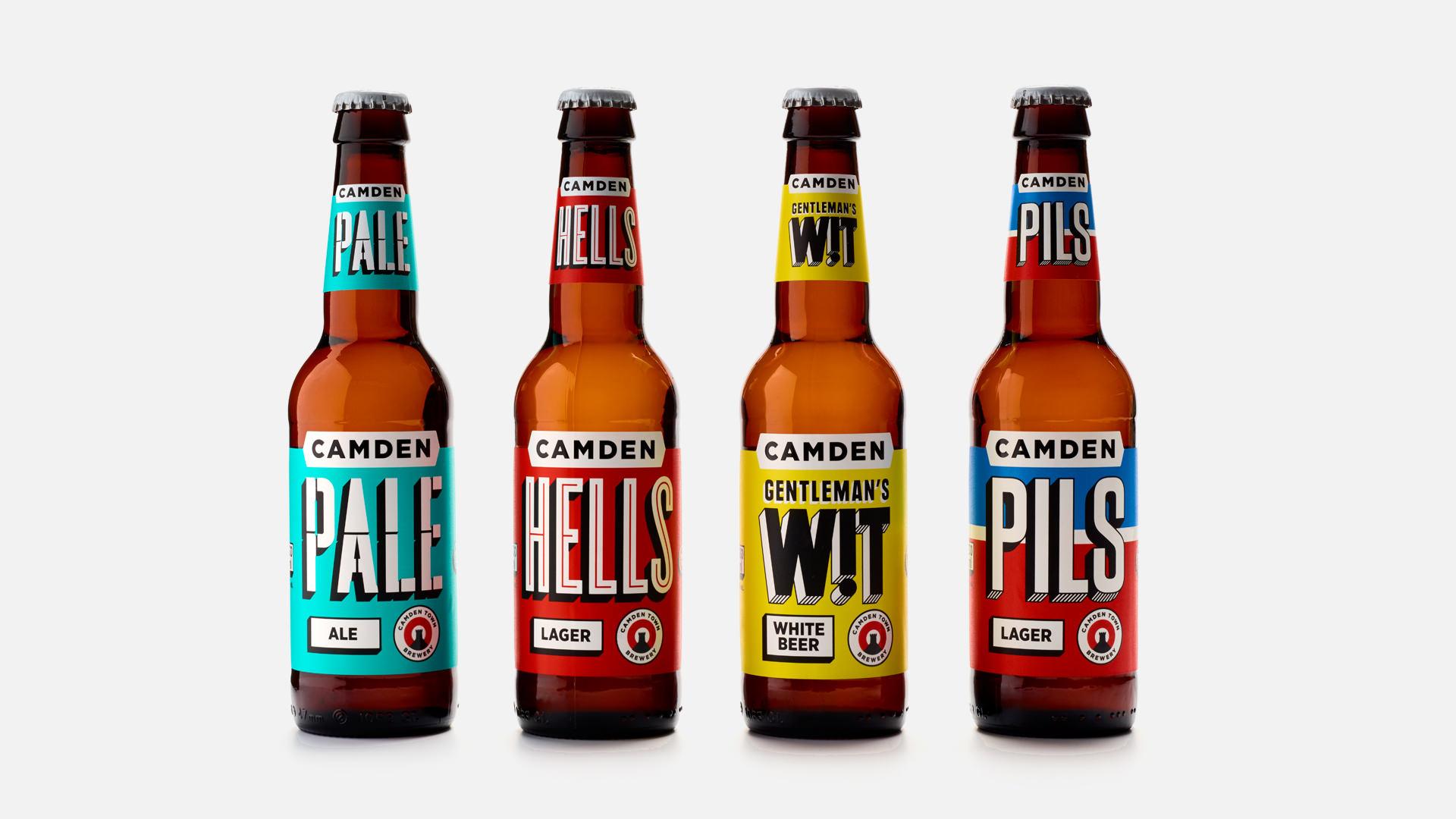 Camden Town Brewery Rebrand