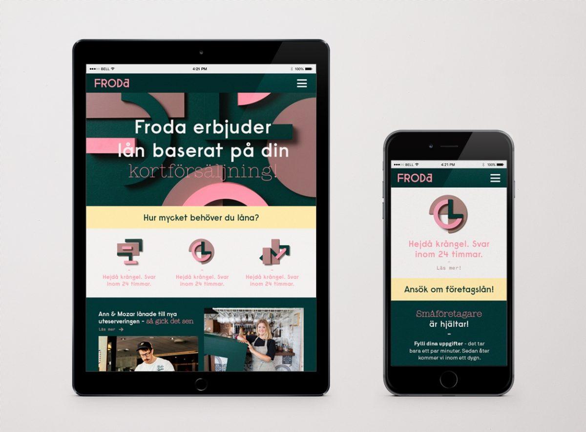 Froda website