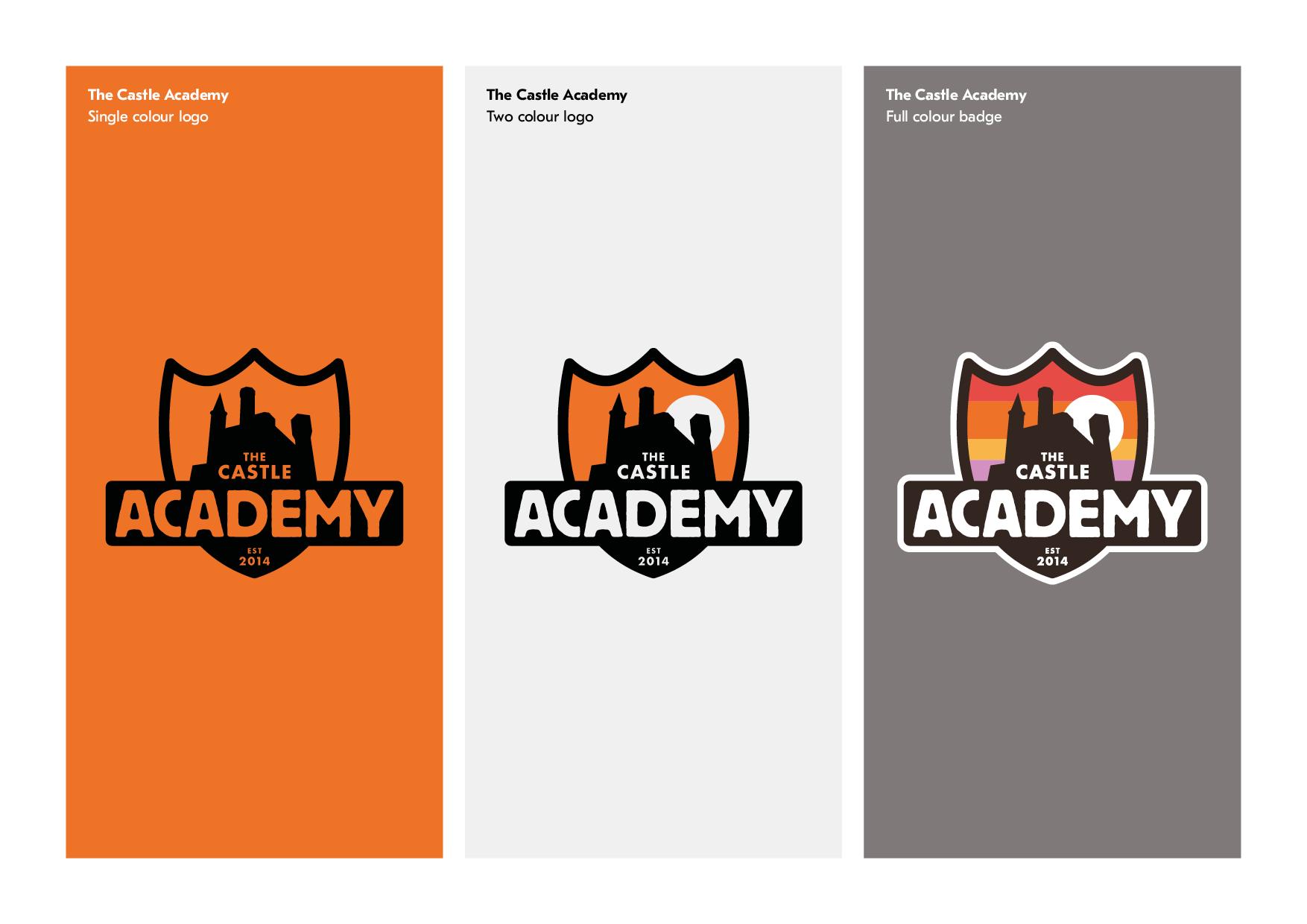 Castle Academy logo