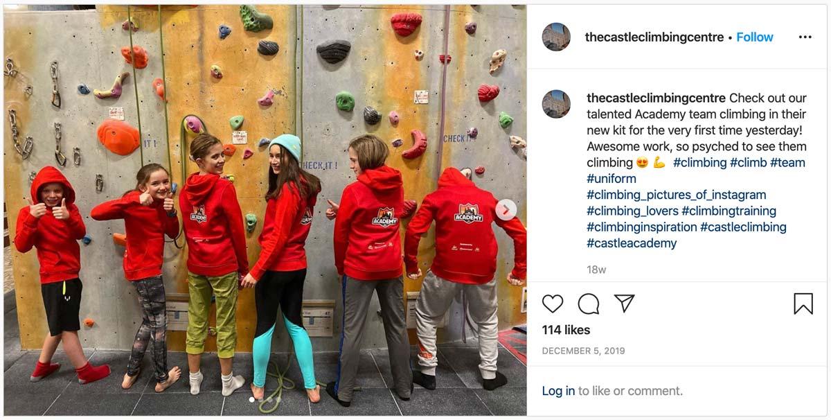 Castle Instagram